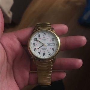 Men's indiglo watch